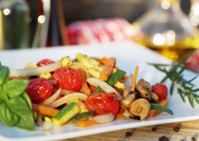 Gegrilltes Gemüse – grilled vegetables